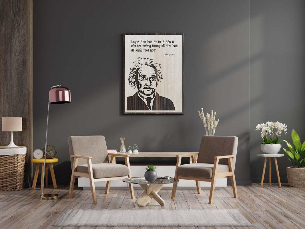 chọn tranh treo tường phòng khách làm quà tặng cuối năm cho khách hàng