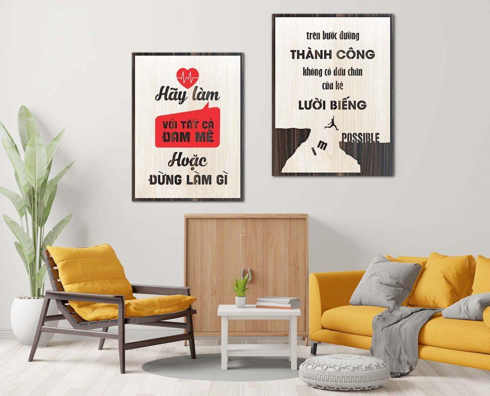 tranh treo tường tặng khách hàng đẹp trang trí phòng khách
