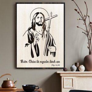 Tranh Công Giáo TBIG-CG006: Thiên Chúa là nguồn bình an
