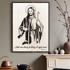 Tranh Treo Tường Công Giáo TBIG-CG007: Anh em đừng lo lắng về ngày mai